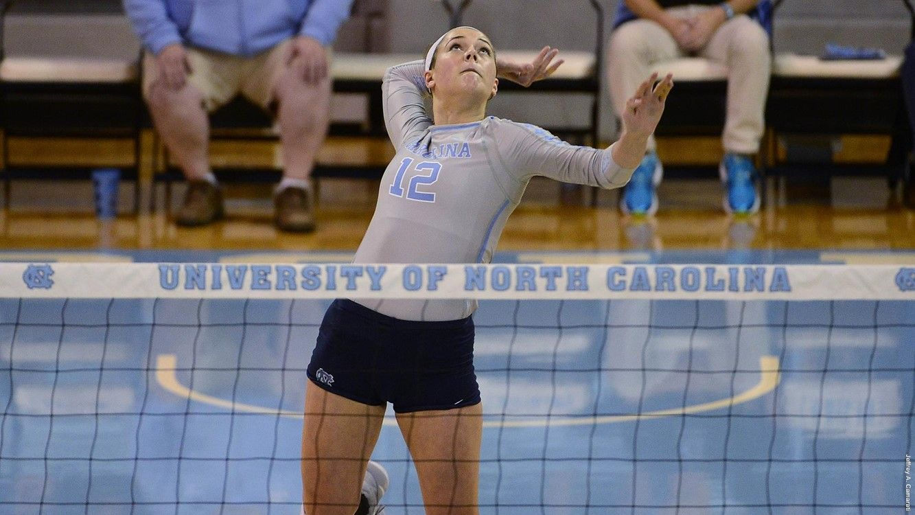 2017 First Look Pin Hitters University Of North Carolina Athletics University Of North Carolina Volleyball News North Carolina