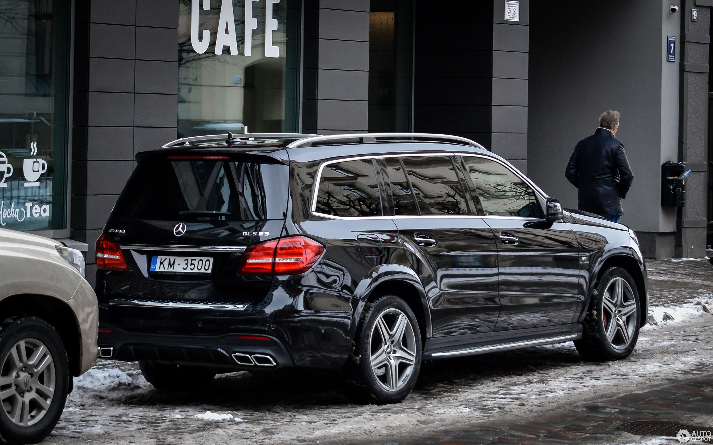 2019 Mercedes Amg Gls63 Interior Exterior And Review Dengan Gambar