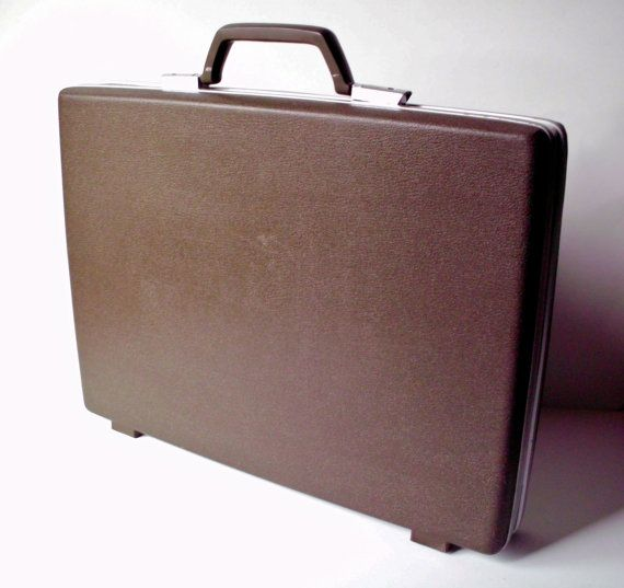 Samsonite Briefcase Attache by PoorLittleRobin on Etsy, $24.00
