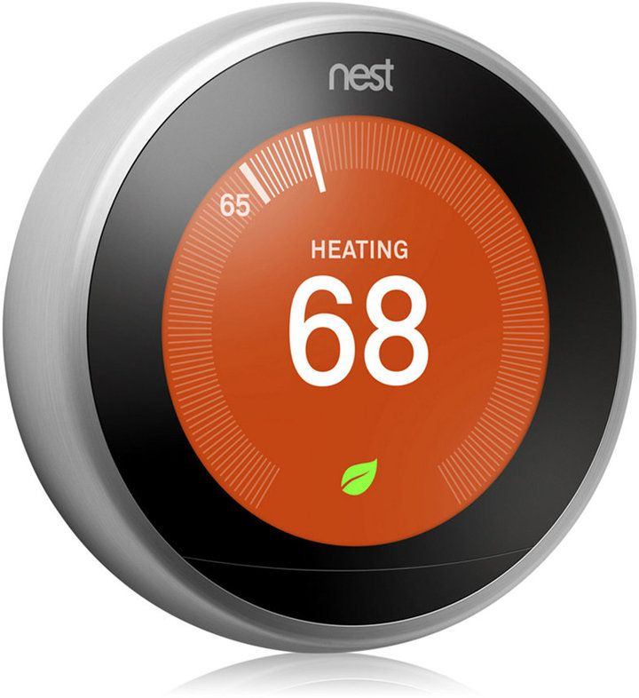 Nest Learning Thermostat 3rd Generation Stainless Steel Nest Learning Thermostat Nest Learning Thermostat