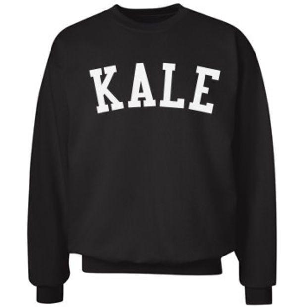 Womans Ladies Plus Size Celebrity Kale Print Long Sleeve Jumper Sweatshirt Tops