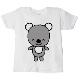 Childrens Austalian Koala T-shirt This #childrens #australian #koala #t-shirt is a high quality direct to garment print on a white 100% cotton top, this t-shirt is perfect for australia day but also any fun occasion or just casual summer wear.