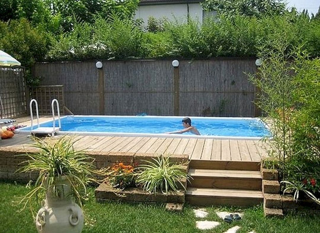 Top 27 Diy Above Ground Pool Ideas On A Budget Pool Landscaping Budget Backyard Backyard