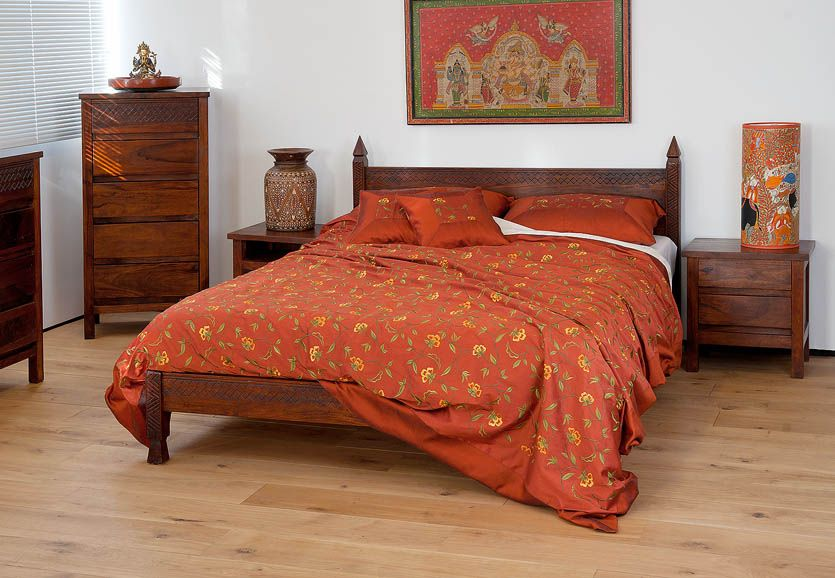 indian bedroom furniture catalogue%0A Kandahar bed The Kandahar is a Indian sheshamwood bed inspired by designs  from the valleys