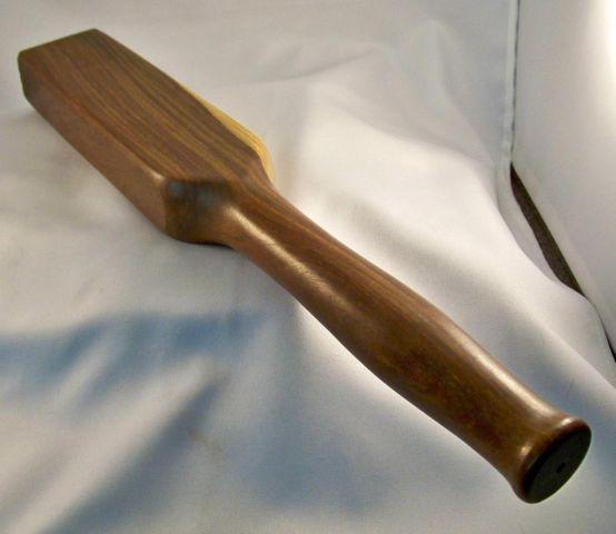 """Heavy Duty Stamping Stick Lignum Vitea - Ed the""""BearMan"""" - Gallery - Leatherworker.net"""