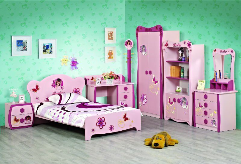 Barbie Bedroom Furniture Set