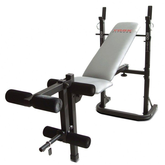 York B500 Weight Bench Weight Benches Adjustable Weight Bench Folding Bench