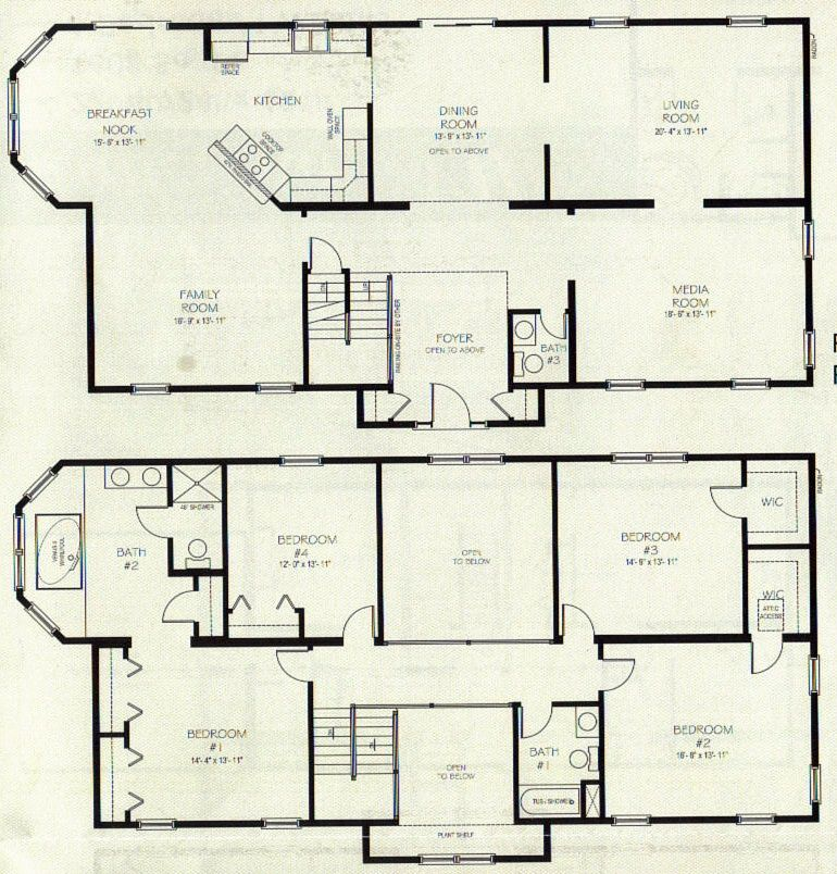 Http Www Mybuildersinc Com Files Somerset 3642 Jpg Two Story House Plans Pole Barn House Plans Family House Plans