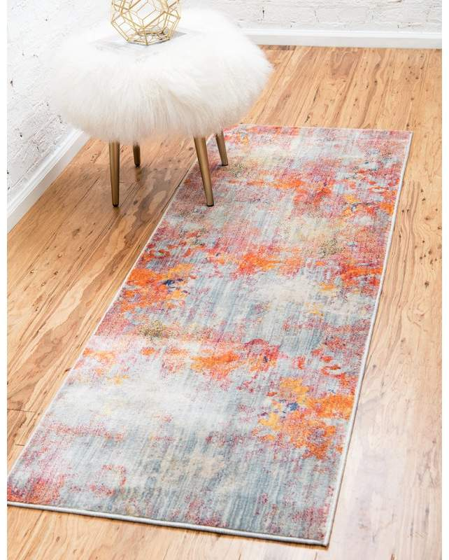 Williston Forge Montross Gray Orange Area Rug In 2019 Products