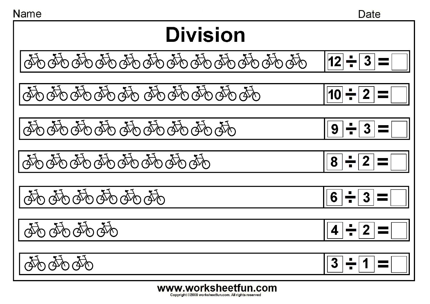 Division worksheets on worksheetfun.com   Division worksheets [ 1054 x 1492 Pixel ]