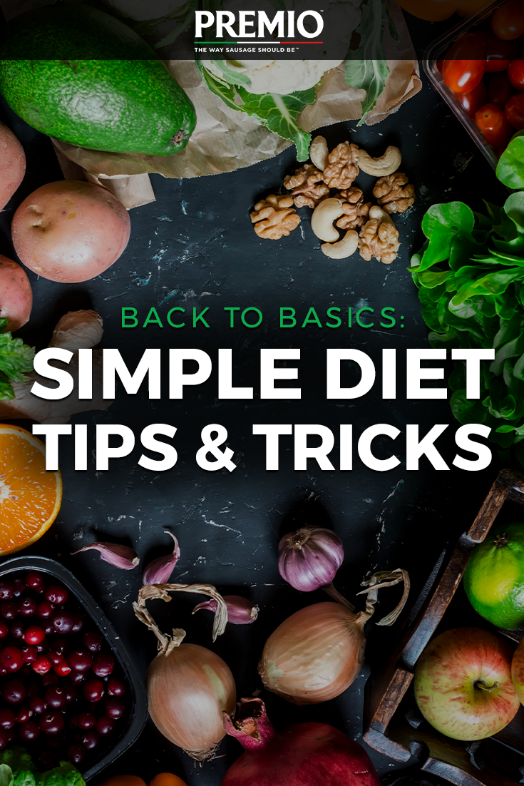 Easy and simple diet tricks