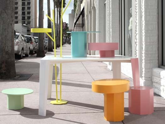 art deco furniture miami. Fabrica Designers Charlotte Juillard And David Raffoul Designed A System Of Custom Display Items For The Newly Remodeled United Colors Benetton Miami Art Deco Furniture