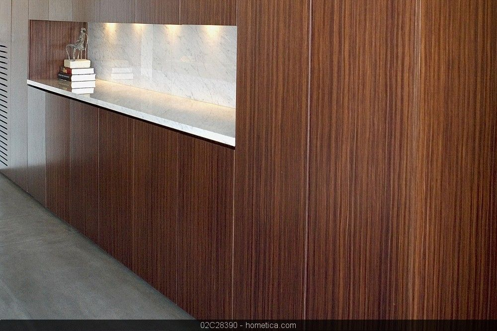contemporary modern wood side board, buffet with