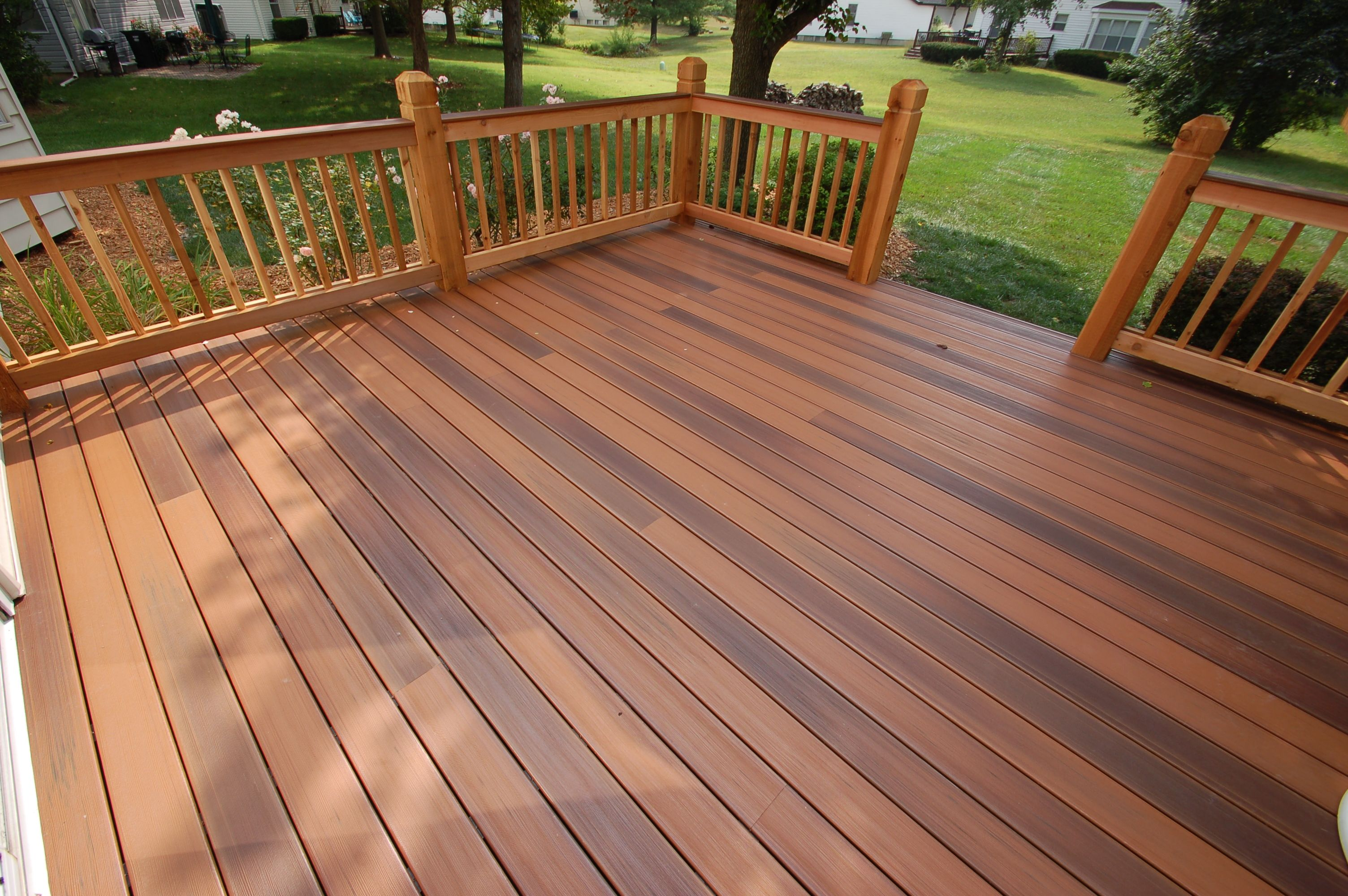 Duralife brazilian cherry decking decking pinterest for Outdoor composite decking