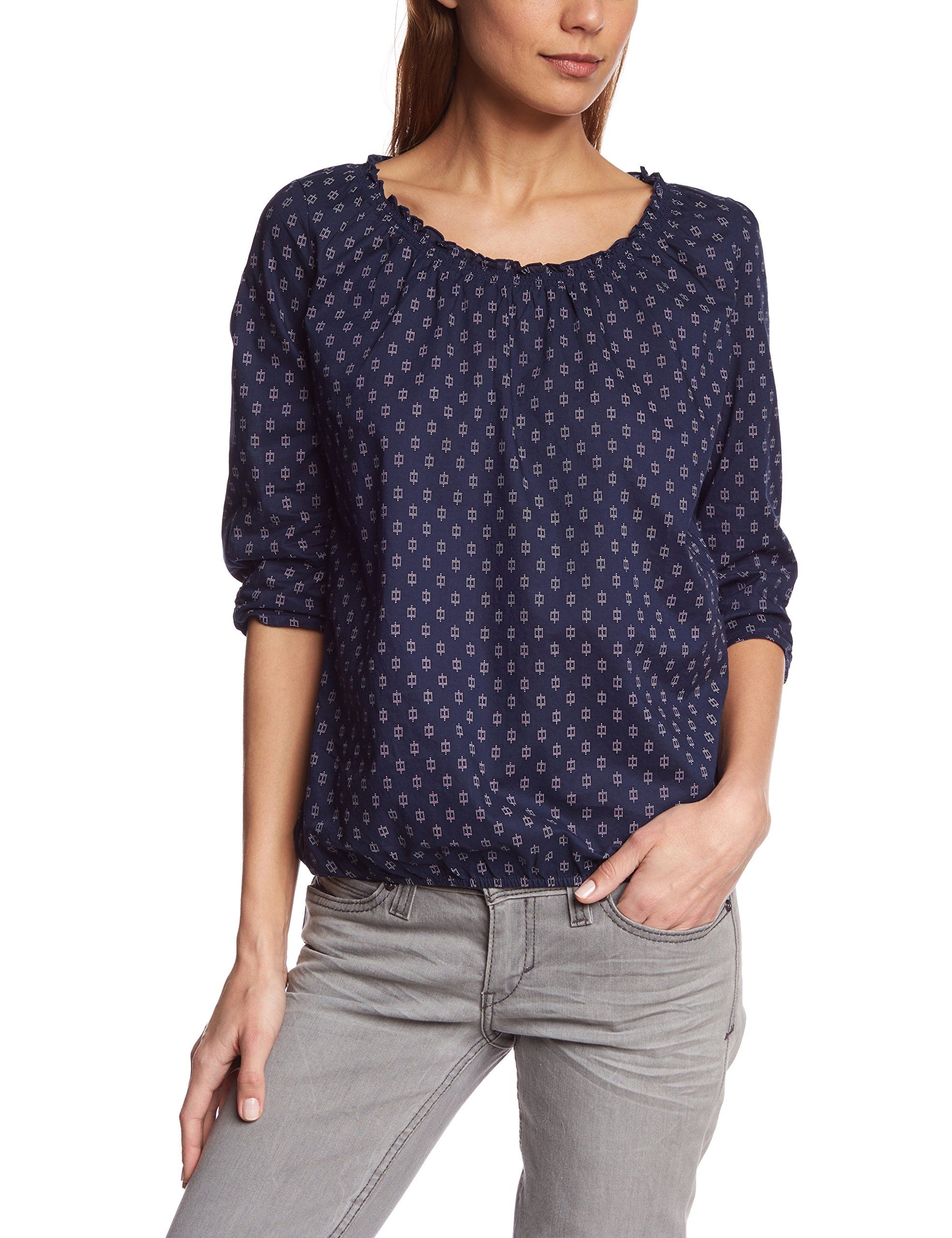 Up To Date Discount Low Price Fee Shipping Womens Pattern Long Sleeve Jumper EDC by Esprit Footaction Online Outlet Low Shipping Fee DJxnwq1Gv