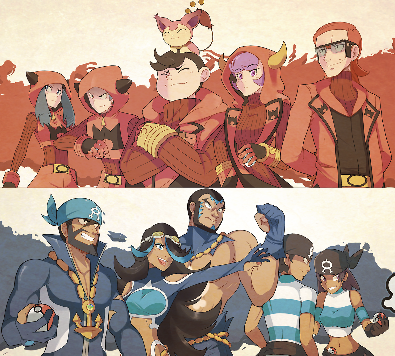 Team magma and team aqua pokemon oras pokemon nintendo animals