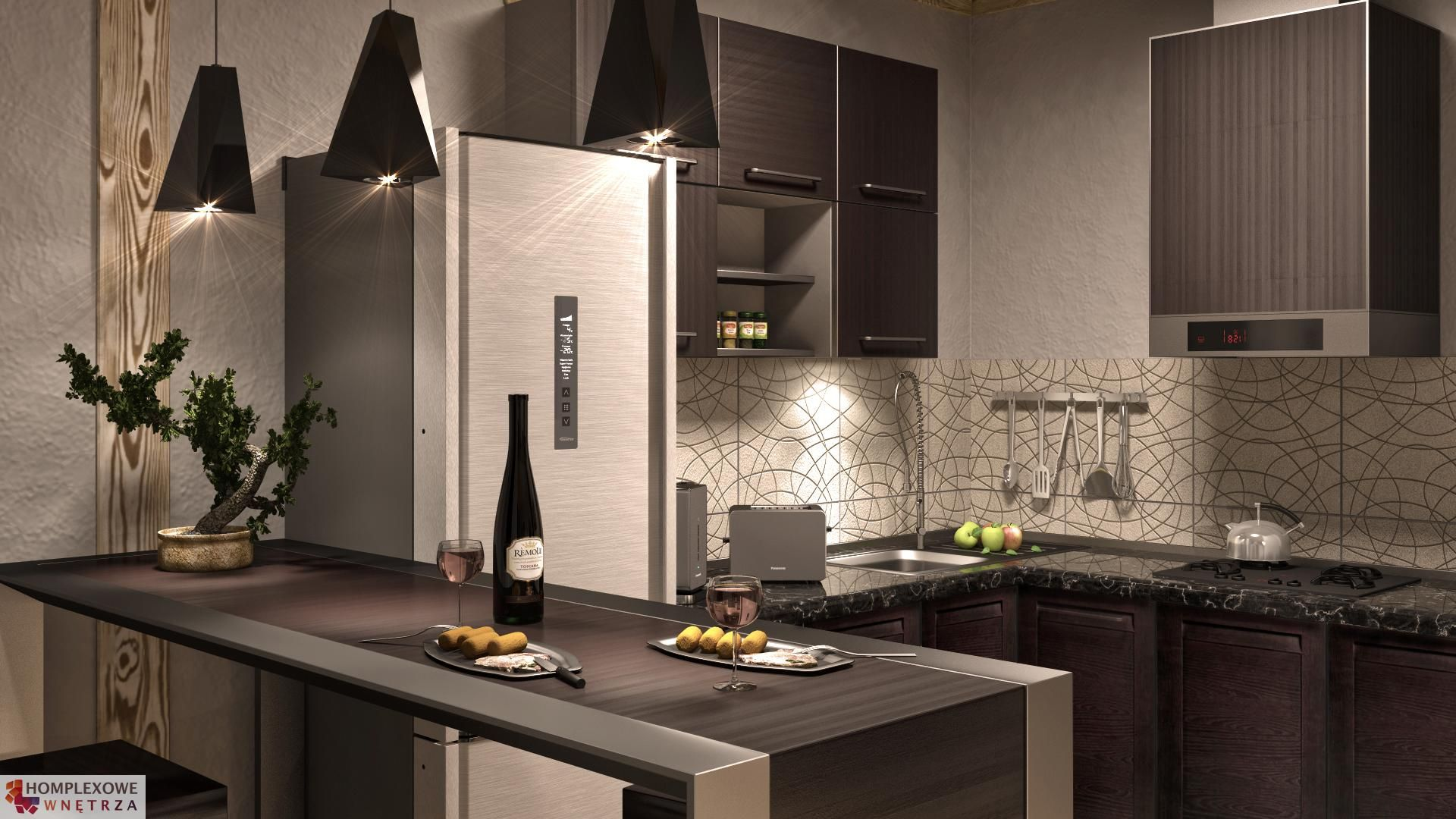 Kuchnia Concepthouse Mokotow Rozklad Lokalu Nr 133 142 145 Autorzy Projektu Djordje Stevanovic I Bogoljub Stankovic Kitchen Interior Kitchen Home Decor