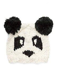 San Diego Hat Company Panda Pom Beanie  6f420ec95cbe