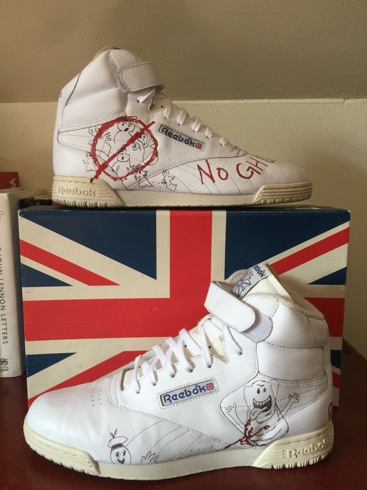 BAIT x Stranger Things x Ghostbusters x Reebok Ex-O-Fit Clean VINTAGE Size 322dbc0ef