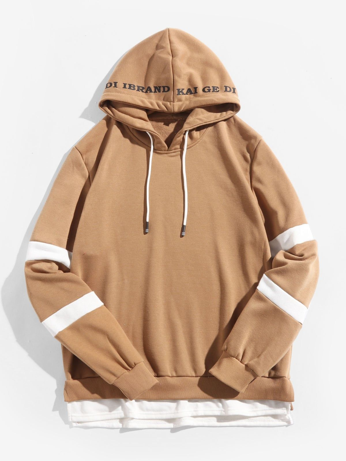 S-Fly Women Fashion Kangaroo Pocket Love Print Hoodie Pullover Sweatshirt