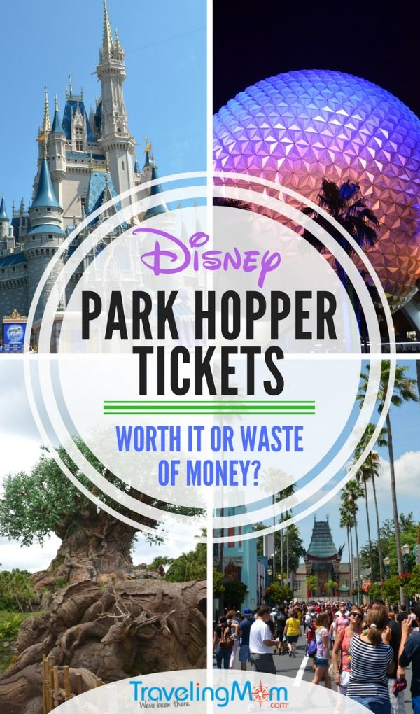 Disney park hopper tickets worth it or a waste of money all disney park hopper tickets worth it or a waste of money all things disney pinterest disney vacations walt disney and vacation publicscrutiny Image collections