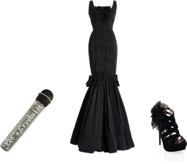 """sing............"" by soha123 ❤ liked on Polyvore"