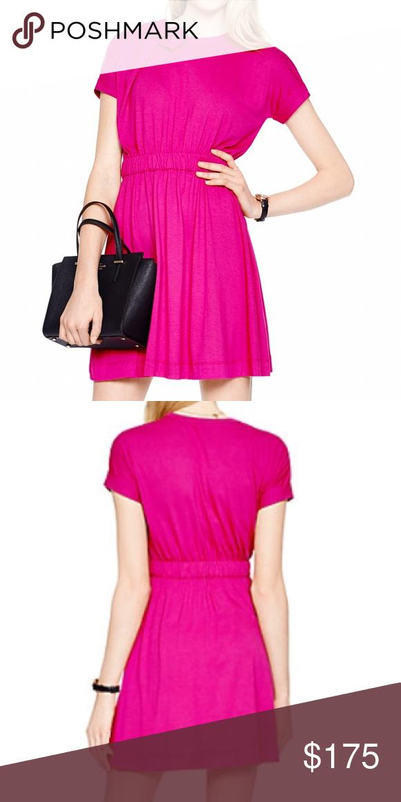 Kate Spade Sweetheart Pink Bow Dress NWT | Rosa, Kate spade y Vestidos