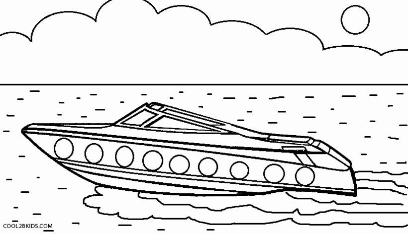 Printable Boat Coloring Pages For Kids Cool2bkids Coloring Book Pages Coloring Pages For Kids Boat Drawing