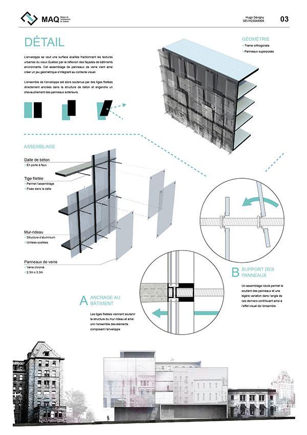 Maison de l\u0027architecture du Québec on Behance Architectural