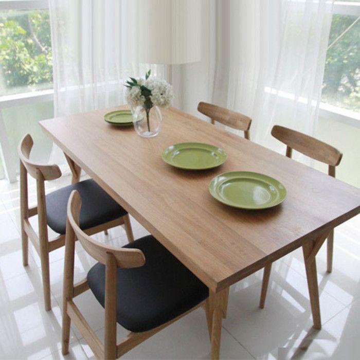 Muebles de estilo moderno de dodge japonesa escandinava, mesas de ...