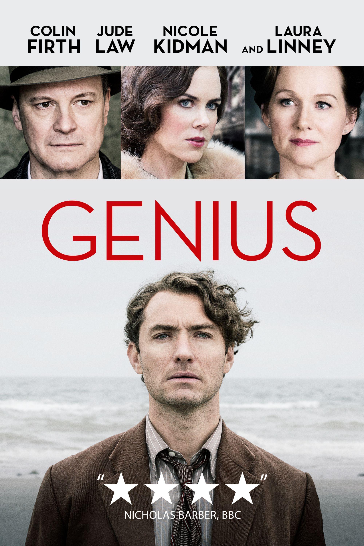 Genius Movie Poster - Nicole Kidman, Colin Firth, Jude Law #Genius,  #NicoleKidman, #ColinFirth, #JudeLaw, #MichaelGrandage, #Drama, #Art, #Film,  #Movie, ...