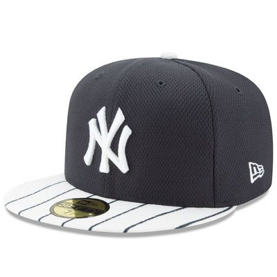 3d757c9d Men's New Era Navy/White New York Yankees Diamond Era 59FIFTY Fitted Hat