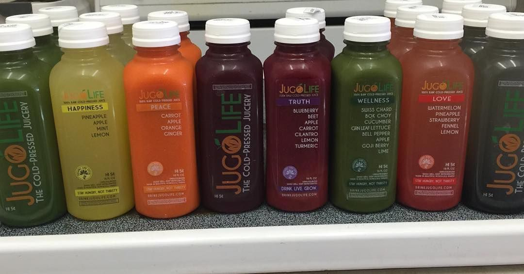Mix and match and customize your own cleanse if you want