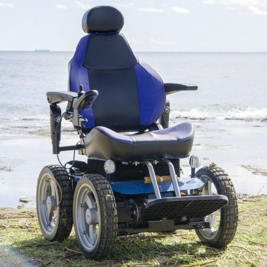 All Terrain Electric Wheelchair Rolling Chairs On Carpet A0013 Observer Aussie Bush 4x4