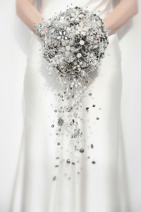 Bouquet Sposa Swarovski.Swarovski Crystal Bouquet Wedding Design Bouquet Cristalli