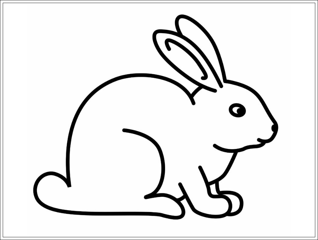 Ausmalbilder Hasen Zum Ausdrucken Fur Ausmalbilder Hasen Ausmalbild Hase Malvorlage Hase Kinderfarben
