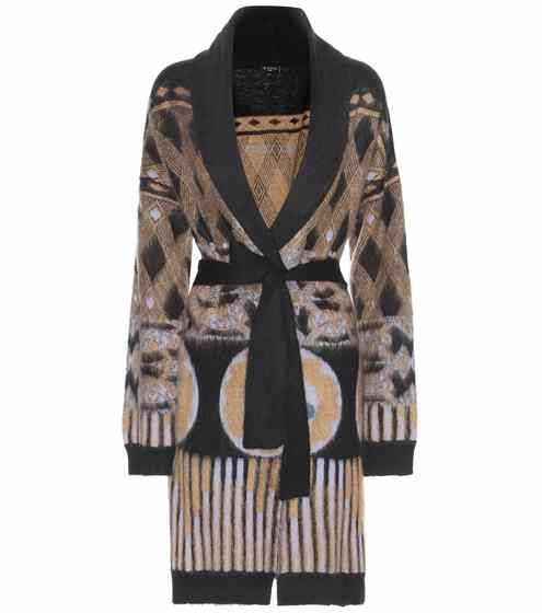 Printed mohair-blend cardigan | Etro