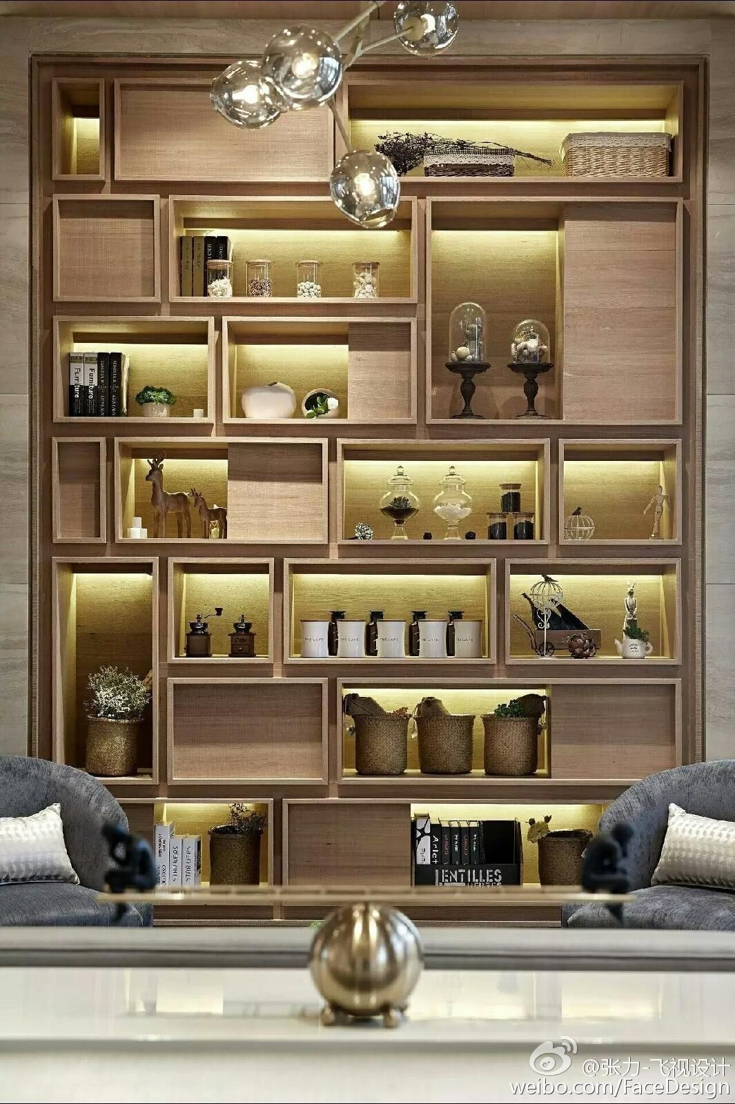 Idea Of Display Above Coffee Bar In Lounge Area In 2020 Bookcase Diy Shelves Furniture Design