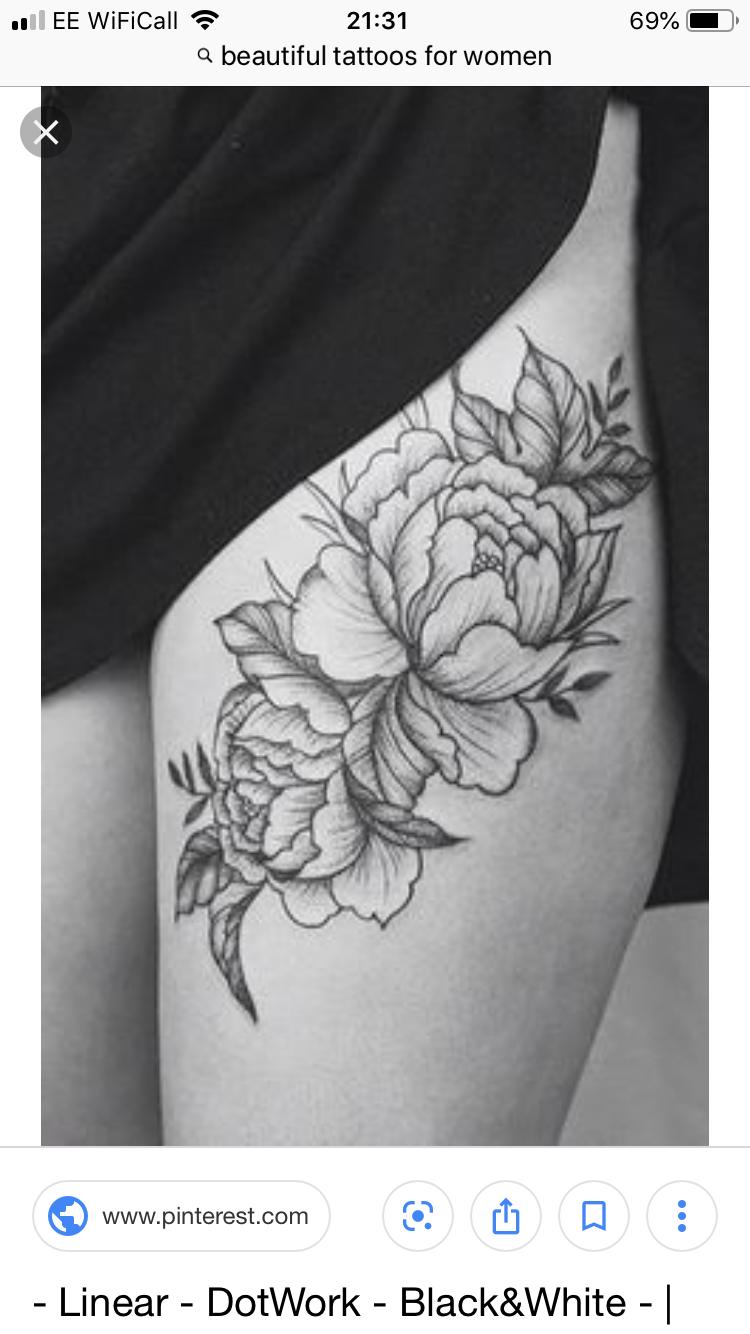 Pin By Alicjamarczak On Damskie Tatuaze Leg Tattoos Floral Thigh Tattoos Tattoos