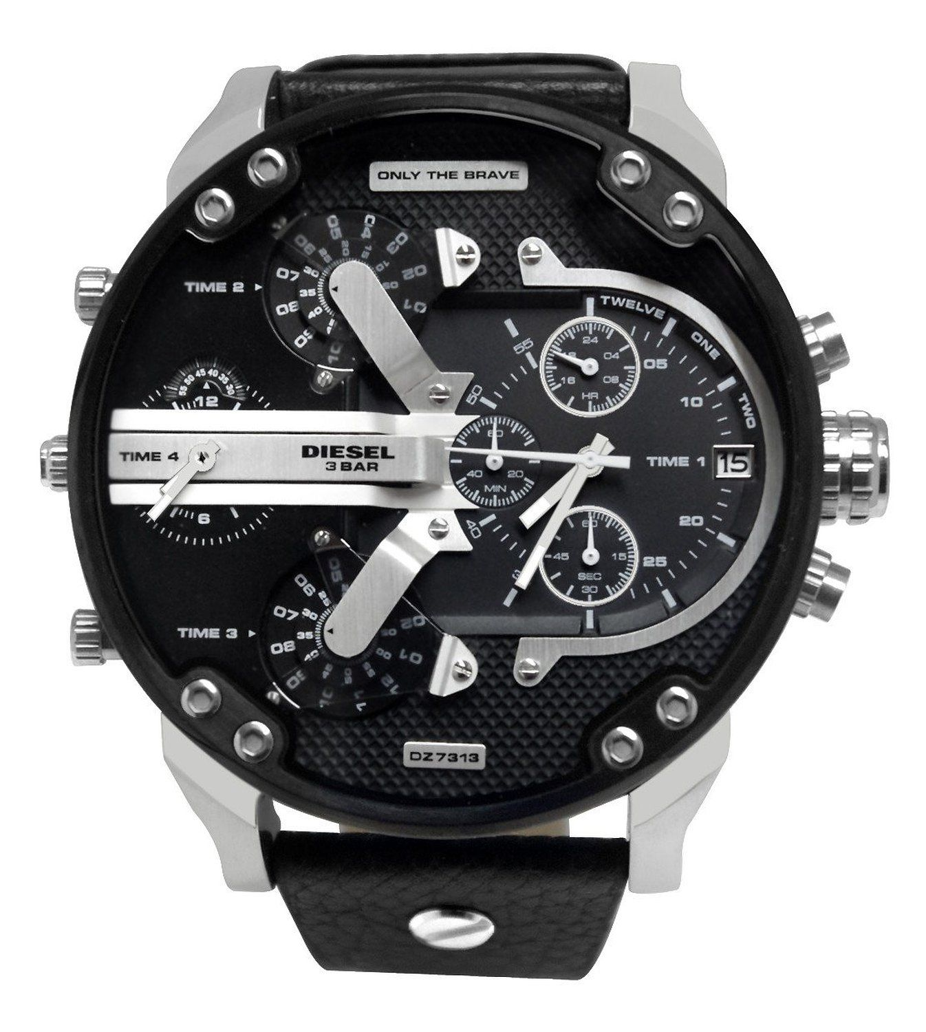 diesel dz7313 montre homme quartz chronographe. Black Bedroom Furniture Sets. Home Design Ideas