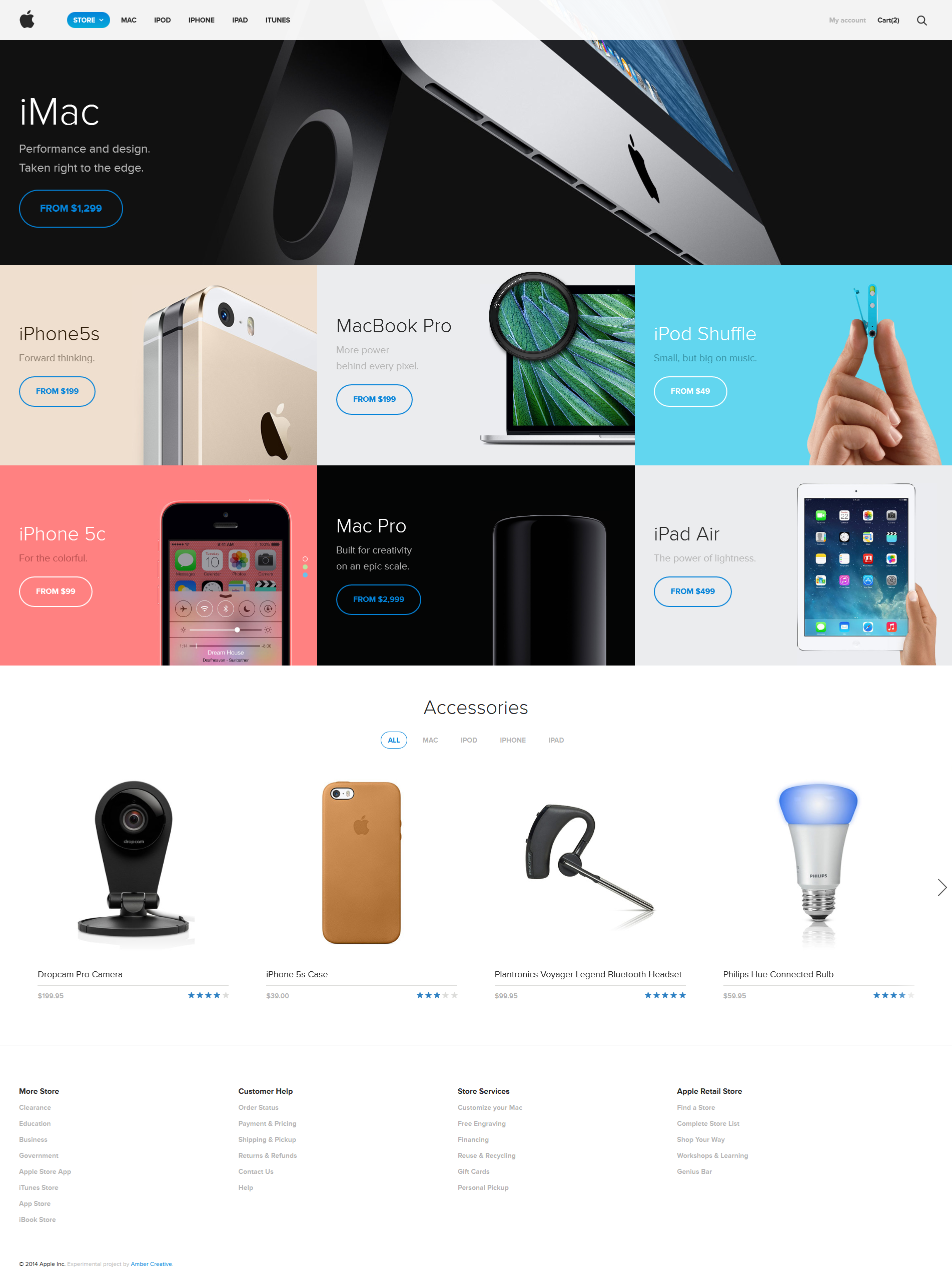 Nice Redesign Of Apple Store By Amber Creative Http Ambercreative Co Experiments Apple Store 0 Mobile Web Design Web Design Trends Interactive Design