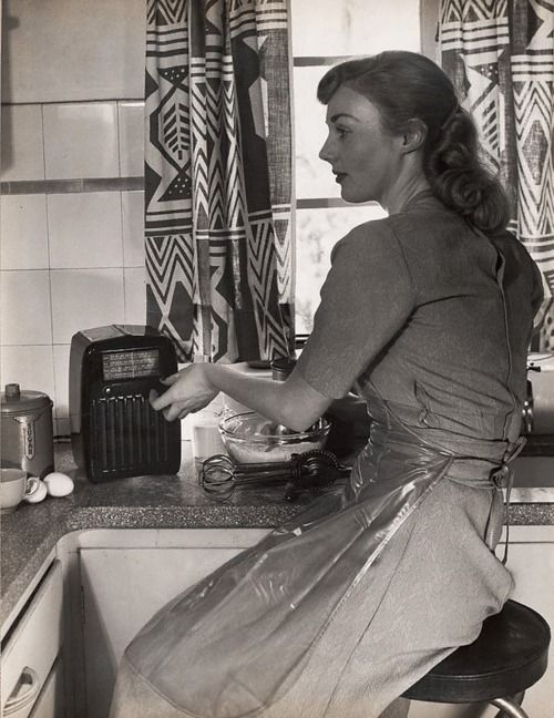 In The Kitchen From Http Theniftyfifties Tumblr Com Vintage