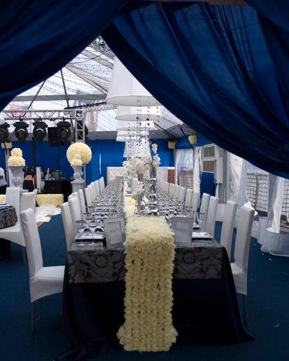 David Tutera Weddings Ideas: David Tutera Table Runner Of Roses