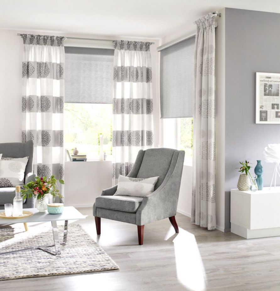gardinen ideen wohnzimmer  Curtains living room, Elegant living