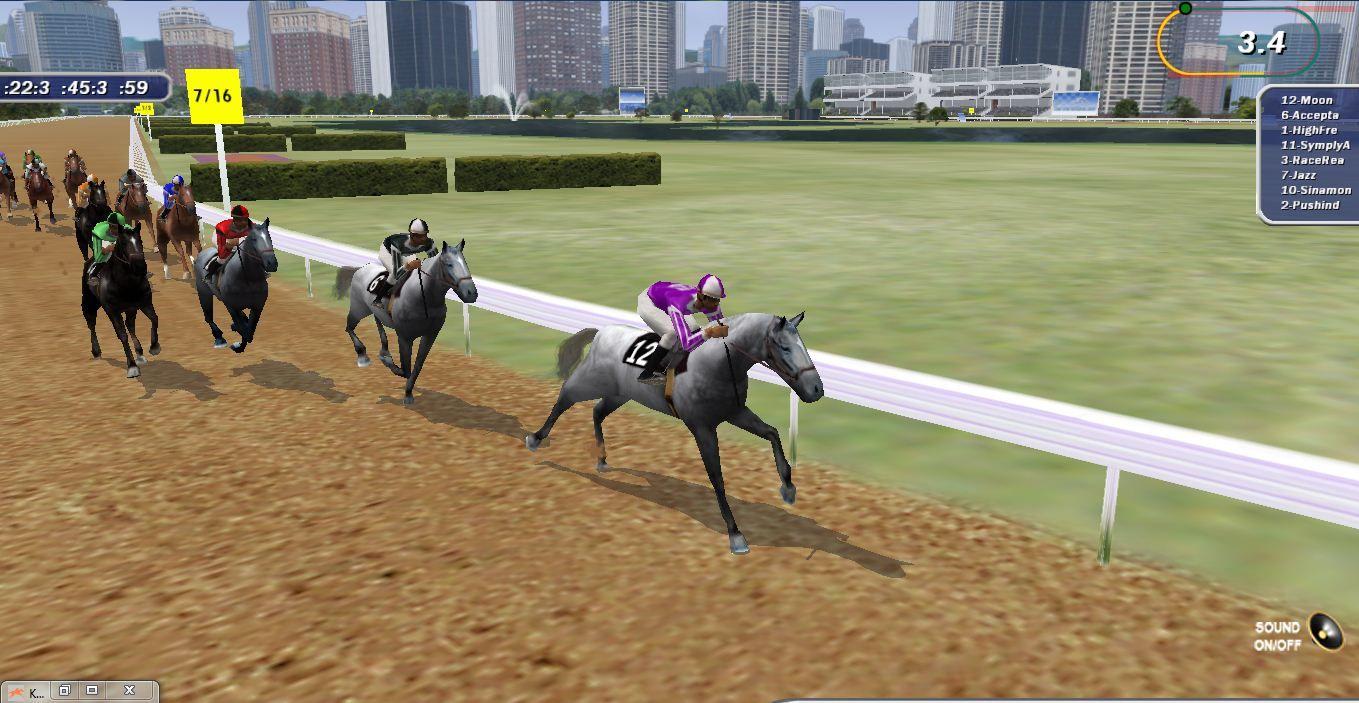 CityDirt 42.   Virtual Horseracing Game   Horse race game ...