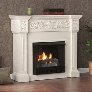 cute portable fireplace with mantel now my question is can you rh pinterest com Amish Fireplace Mantels White Fireplace Mantel Shelf