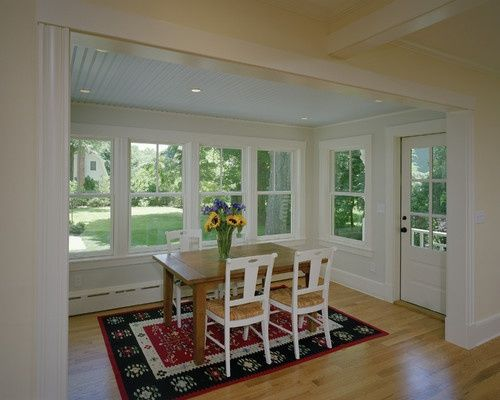 Small Sunroom Dining Room Addition   Convert A Screened Porch To Sunroom. | Dining  Room Decor | Pinterest | Sunroom Dining, Room Additions And Sunroom