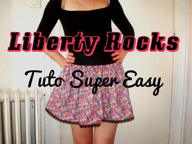 Liberty Rocks Le Tuto Ultra Facile Sew Far Sew Good Pinterest