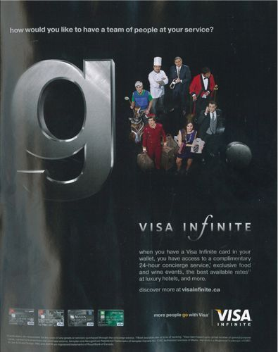 Visa Print Ad M Models And Talent Agency With Images Print