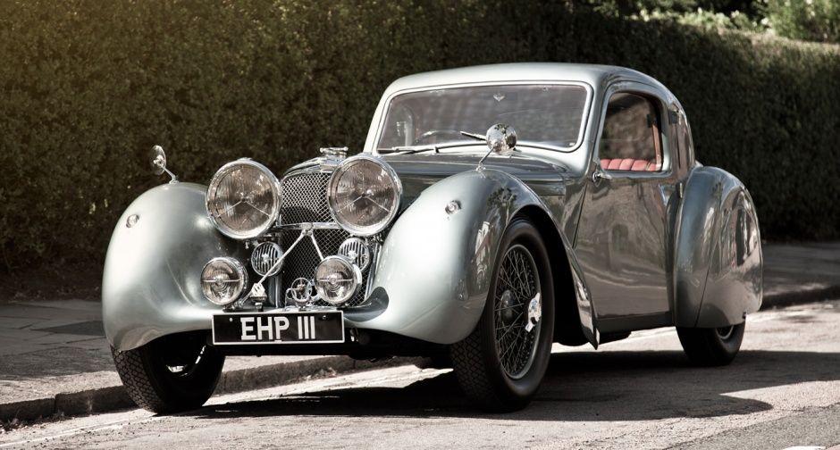 1938 Show Stopper William Lyons Jaguar Ss100 3 5 Litre Coupe Prototype Classic Driver Magazine Classic Cars Classic Cars Vintage Jaguar